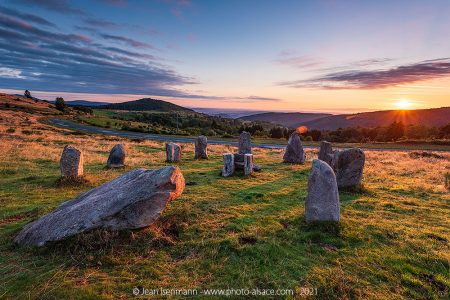 Sur le blog de photo-alsace : Le cercle de pierres